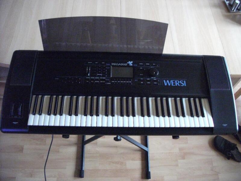 keyboard wersi pegasus in saarland saarlouis musikinstrumente und zubeh r gebraucht kaufen. Black Bedroom Furniture Sets. Home Design Ideas