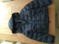 Abercombie & Fitch Men's Dark Grey Palmer Brook Down Puffer Jacket Coat (large) (never worn)