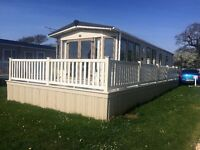 BEAUTIFUL STATIC CARAVAN 'ABI SYMPHONY' 2 BEDROOM, 2013, VGC, SITED,2 PARKING SPACES @SOLENT BREEZES