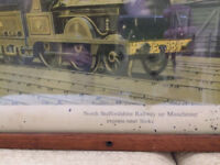 C Hamilton Ellis - Train Prints x2
