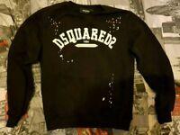 DSQUARED2 Men's Jumper And T-shirt Size Medium (hugoboss, armani, stone island)