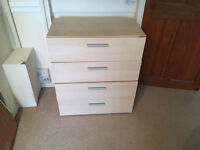chest of drawer for bedroom living room 4 drawers