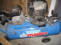 AN AIR MASTER COMPRESSOR FOR SPARES OR REPAIR