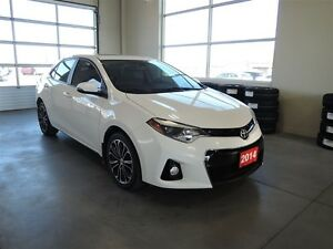 2014 Toyota Corolla S Leather Navigation Sunroof - One Owner