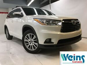 2016 Toyota Highlander XLE , 1 OWNER , NO ACCIDENTS
