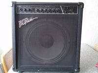 B C RICH 50w Combo amp with reverb