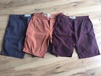 Men's next shorts size 34