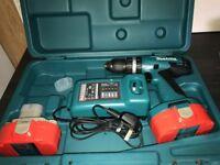 Makits 18 volt Cordless Drill