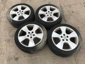 2002 Vauxhall Vectra Alloys 225/45 R17 Wheels Rims