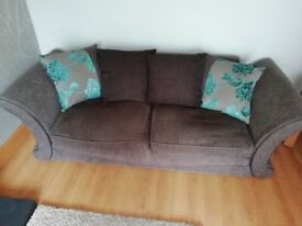 3 and 4 seater sofas for sale collection only £160 ono