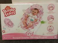 New unopened Bright Starts Vibrating Bouncer