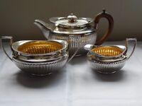 A George III Silver Tea Service Hallmarked London 1800 by William Bateman 42oz