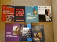 Building and construction text books