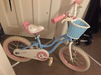 excellent condition girls bike