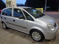 2006 vauxhall meriva 1.4 with 12 months mot cheap tax DRIVEAWAY OR DELIVERY AVAILABLE