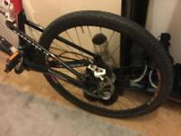 Cannondale carbon mountain bike