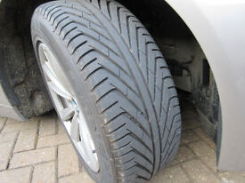 BMW 5 series 17 inch wheels and tyres