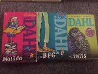 Roald Dahl children's books