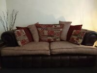 3 piece sofa suite originally from ScS. Three years old.