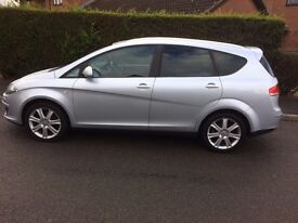 2008 SEAT ALTEA XL 1.9 TDI STYLANCE 69K F/M/D/S/H LEATHER INTERIOR IN MINT CONDITION