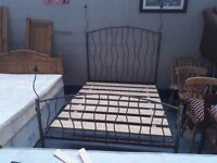 Game of Thrones double metal bed. very solid bed .... real bargain. delivery can be arranged
