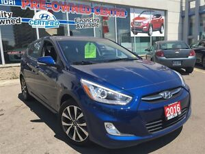 2016 Hyundai Accent | GLS | ALLOYS | ROOF | HEATED SEATS | HYUND