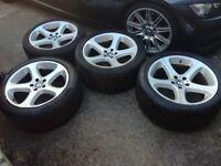 "BMW X5 Genuine 20"" wheels with tyres"