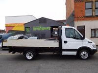 NO VAT 2006 Iveco Daily dropside 35c14 with lockable tool chest 1 years full mot (50)