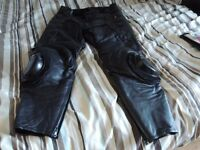 JTS 2 pairs of leather trousers