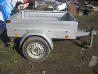 GERMAN GALVANISED CAR TRAILER