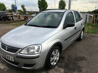 2003 VAUXHALL CORSA 1.0 , NEW MOT 5 DOORS, SUPERB DRIVE/micra/vw polo/fiat punto/vw golf/ford fiesta