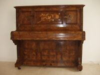 Beautiful old piano, working parts restored