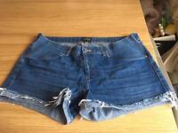 Size 14 - Topshop Maternity Shorts