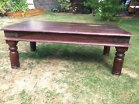 Indian Thakat coffee table