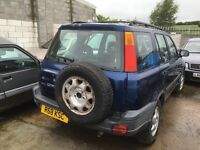 Honda cr-v jeep Parts available bumper bonnet light door wheels wings