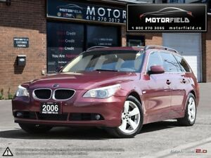 2006 BMW 5 Series 530xi Touring *PANO ROOF, LOW KM, CERTIFIED*
