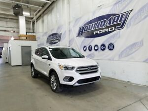 2017 Ford Escape Titanium W/ Leather, Sunroof, Active Park