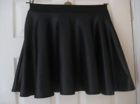 FAUX LEATHER SKIRT - SIZE 14