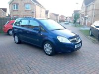 2009 VAUXHALL ZAFIRA 1.6, MOT FULL 12 MONTHS, MILEAGE 47000 ONLY, JUST SERVICED, HPI CLEAR
