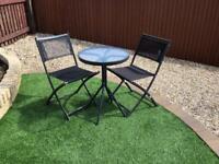 2x Patio/Balcony Chairs
