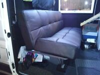 Sofa bed, settee ideal for a camper