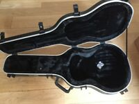 1SKB T45 Hard case primarily for Tanglewood Super Folk acoustic guitar