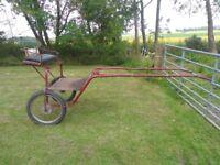 2-Wheel Exercise Cart