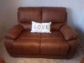 Two Seater sofa with Two Matching Chairs