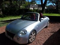 CONVERTIBLE, RED LEATHER 2 SEATER - DIAHATSU COPEN
