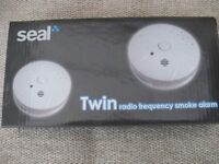 TWIN PACK RADIO FREQUENCY SMOKE ALARMS (Brand New)