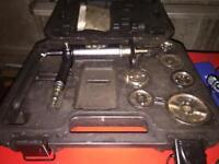 Brake calliper wind back tool