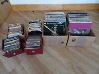 60s 70s 80s Record Collection Circa 160 LPs & 350 45s Elvis Hendrix U2