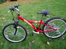 Boys X18 pulse mountain bike (Saracen designed)