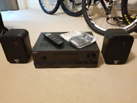 Sony AMP STR-DH520 Audio Control Center 2 x JBL Control One speakers